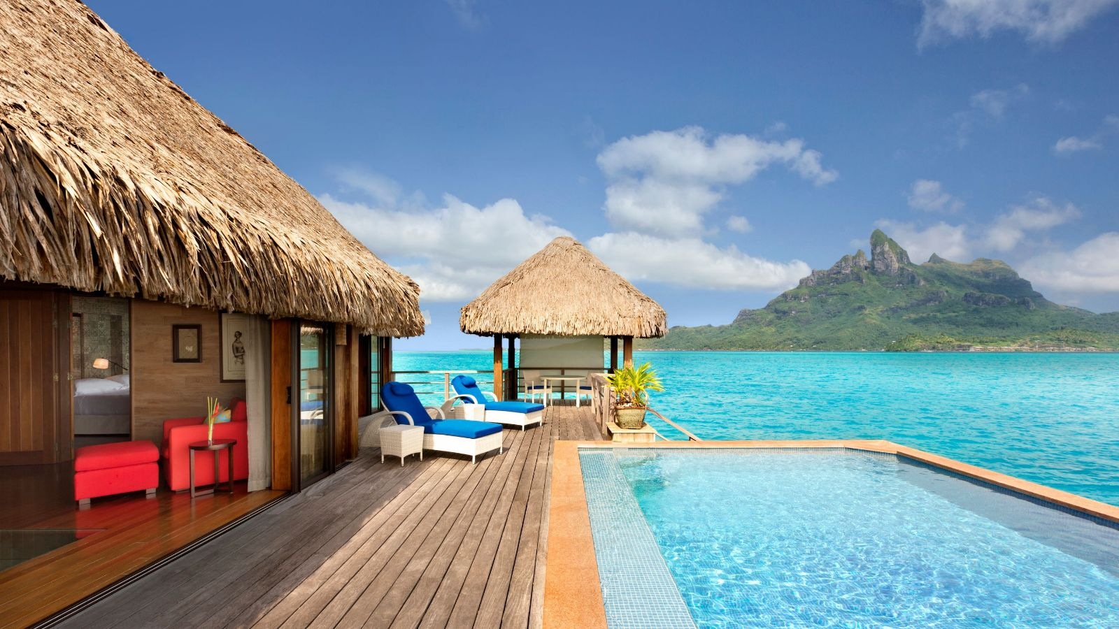 Bora bora resort the st regis bora bora resort for Villas polinesia