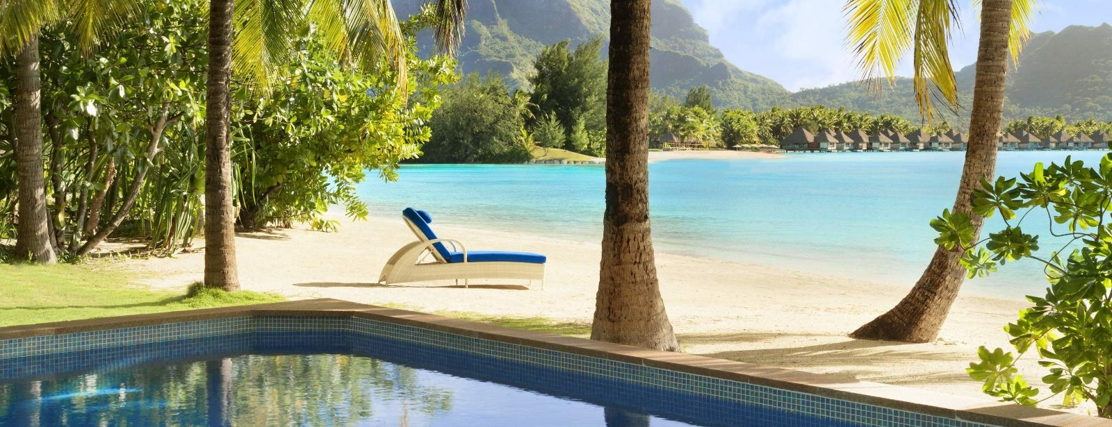 The St. Regis Bora Bora Resort - Beachside Pool Villa