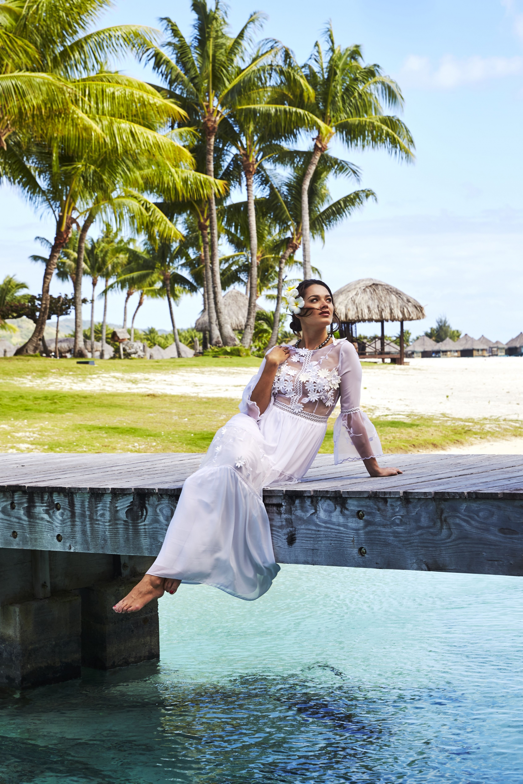 The St. Regis Bora Bora Resort - Hani Haring Creations